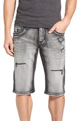 Men's Rock Revival 'Jacoby' Slim Fit Denim Shorts Grey
