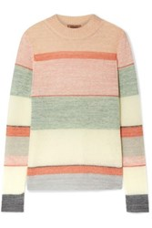 Missoni Striped Knitted Sweater Pink