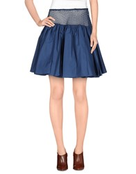 Alaia Alaia Skirts Mini Skirts Women Pastel Blue