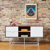 Gus Design Group Emerson Media Stand White