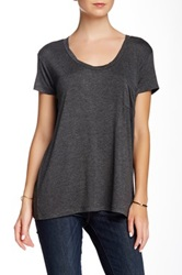 Sweet Romeo Pocket Tee Gray