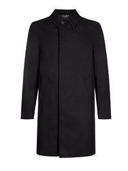 Aquascutum London Broadgate Raincoat Jet Black