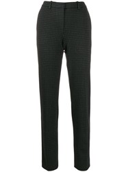 Theory Houndstooth Tapered Trousers 60