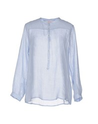 Jucca Shirts Blouses Women Sky Blue