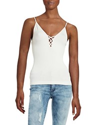 Free People Seamless Crossfire Cami White