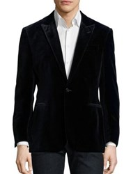 Polo Ralph Lauren Connery Peak Lapel Suit Jacket Navy