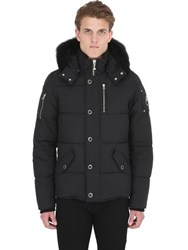 Moose Knuckles 3Q Down Jacket W Fur Trim