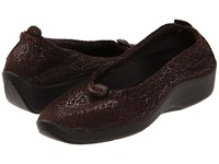 Arcopedico L14 Cafe Flat Shoes Brown