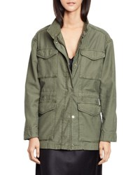 Vince Utility Military Jacket Army