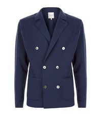 Hardy Amies Double Breasted Cardigan Male Navy