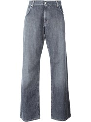 Walter Van Beirendonck Vintage Easy Fit Trousers Grey