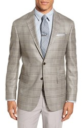 Todd Snyder Men's White Label Trim Fit Plaid Wool Silk And Linen Sport Coat