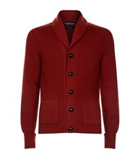 Tom Ford Chunky Steve Mcqueen Cardigan Male Red