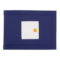 A.P.C. Indigo Carhartt Wip Edition Card Holder