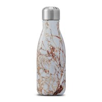 S'well Bottle The Elements Calacatta Gold White