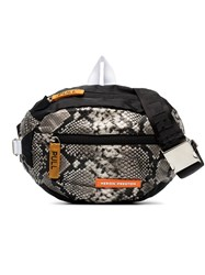 Heron Preston Python Print Reversible Messenger Bag Unavailable