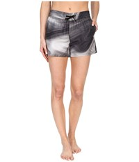 The North Face Printed Class V Shorts Graphite Grey Water Swirl Print Prior Season Gray