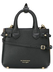 Burberry 'House Check' Tote Bag Black