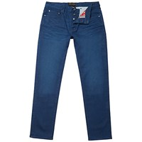 Ted Baker Sayer Straight Jeans Mid Blue
