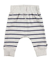 Molo Sammy Infinity Stripes Jogger Pants Gray