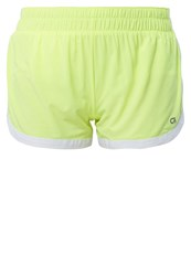 Gap Sports Shorts Neon Lemon Yellow