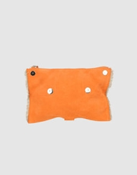 Orciani Clutches Orange