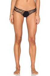 Sauvage Macrame Strappy Rio Bottom Black