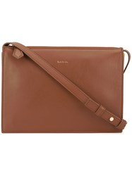 Paul Smith Zip Crossbody Bag Brown