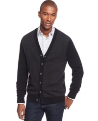 Club Room Cashmere Cardigan Only At Macy's Deep Black