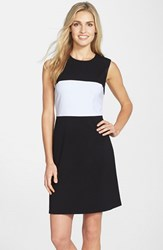 Women's Marc New York By Andrew Marc Colorblock Stretch Shift Dress