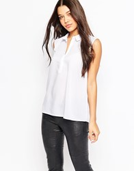 Minimum Sleeveless Shirt White