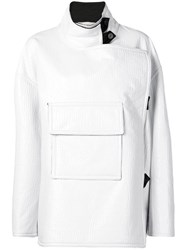 Ports 1961 Short Creased Coat White