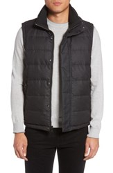 Tumi Men's Heritage Reversible Down Vest Gunmetal Grey