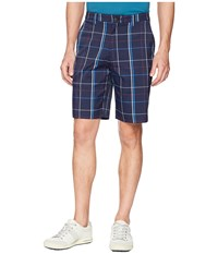 Callaway Plaid Shorts Peacoat Blue
