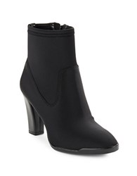 Anne Klein Edrea Point Toe Ankle Boots Black