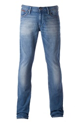 Tommy Hilfiger Scanton Medium Wash Low Rise Jeans Mid Blue