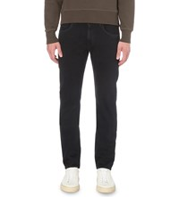 7 For All Mankind Regular Fit Straight Trousers Soho Deep Blue