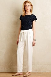Anthropologie South Coast Joggers White
