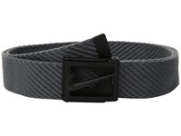Nike Diagonal Web Dark Grey Belts Gray