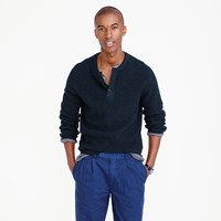 J.Crew Wallace And Barnes Wool Henley Sweater