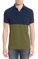 Men's French Connection Trim Fit Colorblock Polo