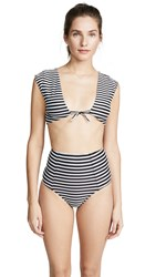 6 Shore Road Coco Bikini Top Stripes