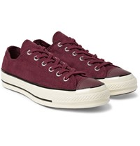 Converse 1970S Chuck Taylor All Star Corduroy Sneakers Burgundy