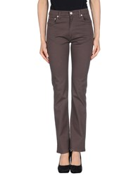 Fiorucci Casual Pants Dark Brown