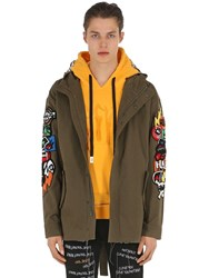 Haculla Hacmania Field Coat Green