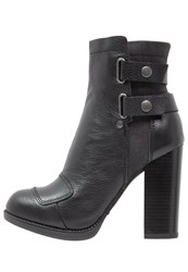G Star Gstar Ranker Boot Wmn High Heeled Ankle Boots Black