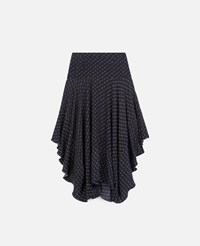 Stella Mccartney Blue Poppy Skirt