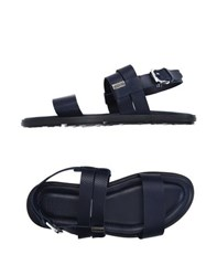 Moschino Footwear Sandals Men Dark Blue