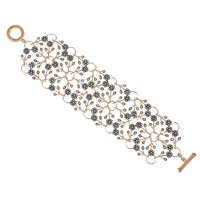Latelita London Enchanted Forest Rosegold Bracelet White Cz Rose Gold
