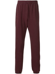 Yeezy Calabasas Sweatpants Cotton Spandex Elastane Red